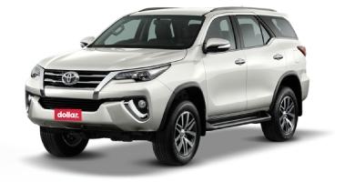 Toyota Fortuner or similar