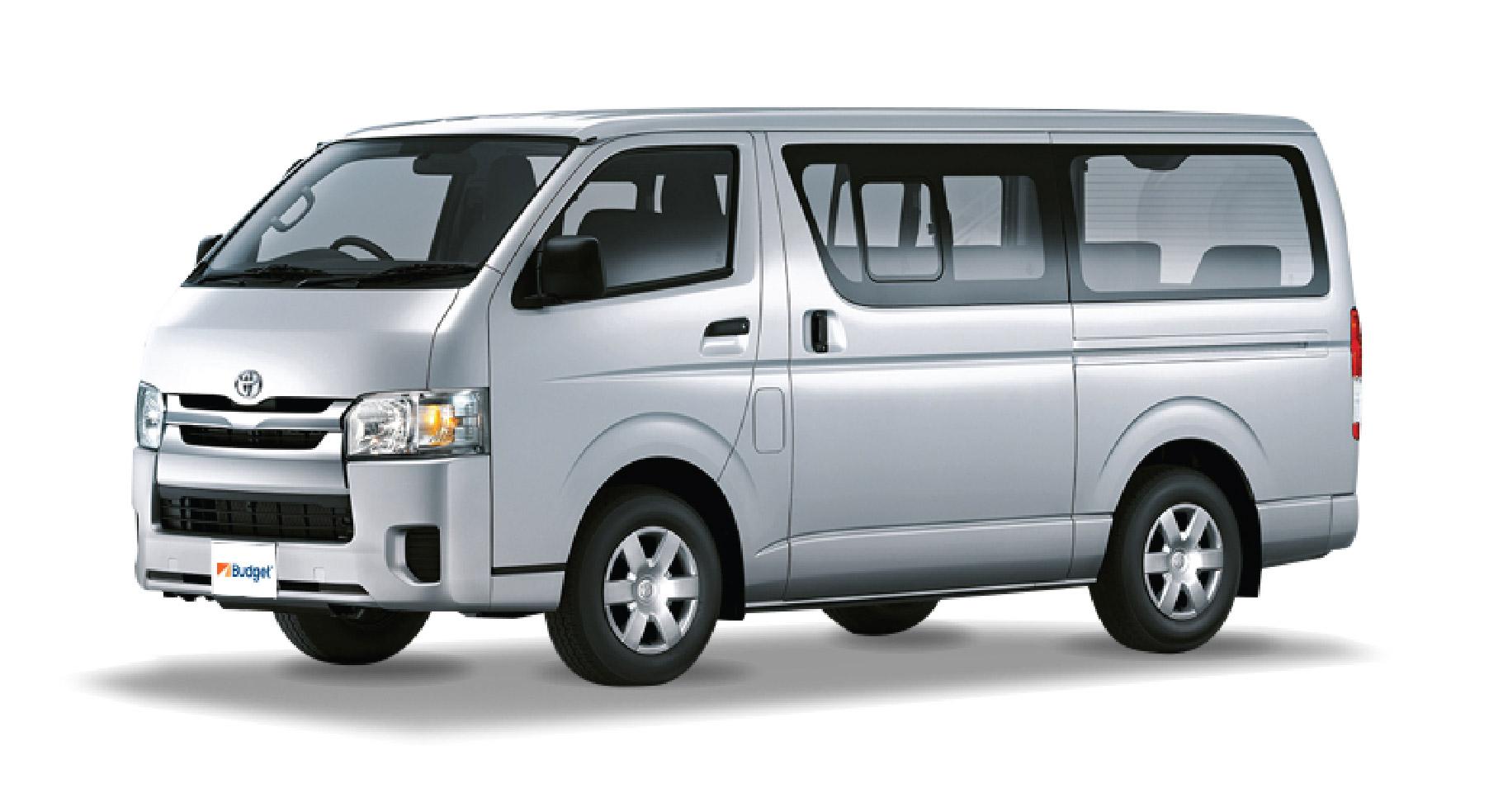 Toyota Hiace or similar