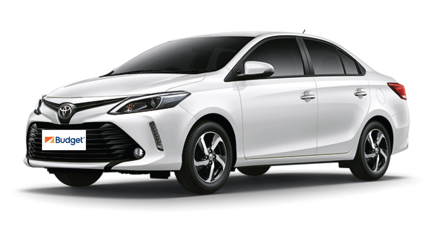 Toyota Vios or similar with driver