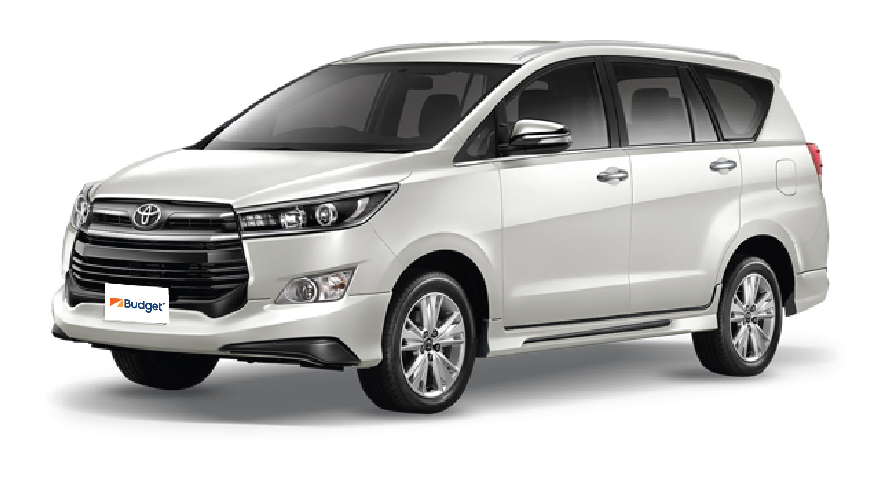 Toyota Innova or similar with driver