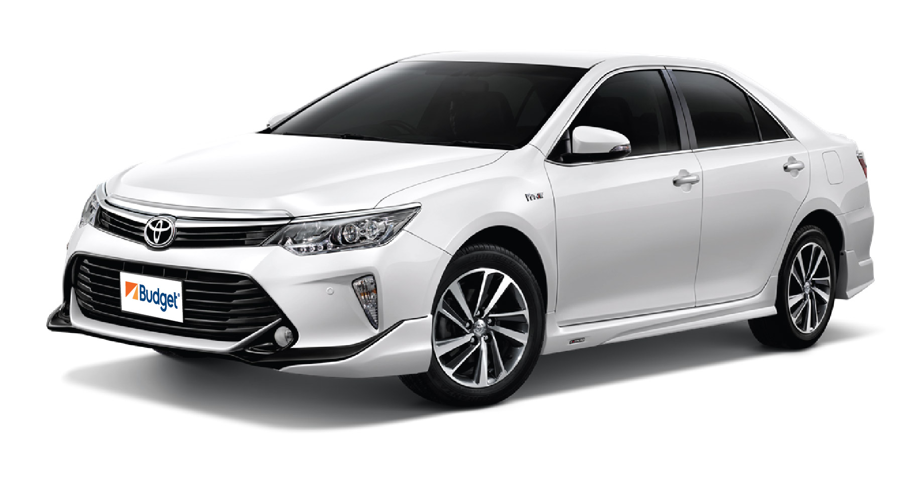 Toyota Camry or similar with driver