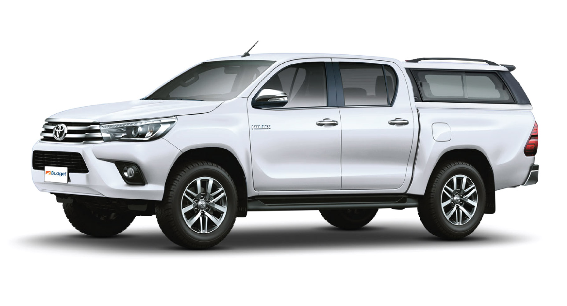 Toyota Fortuner or similar with driver