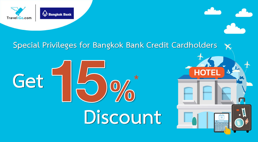Special Privilege for Bangkok Bank Credit Cardholders